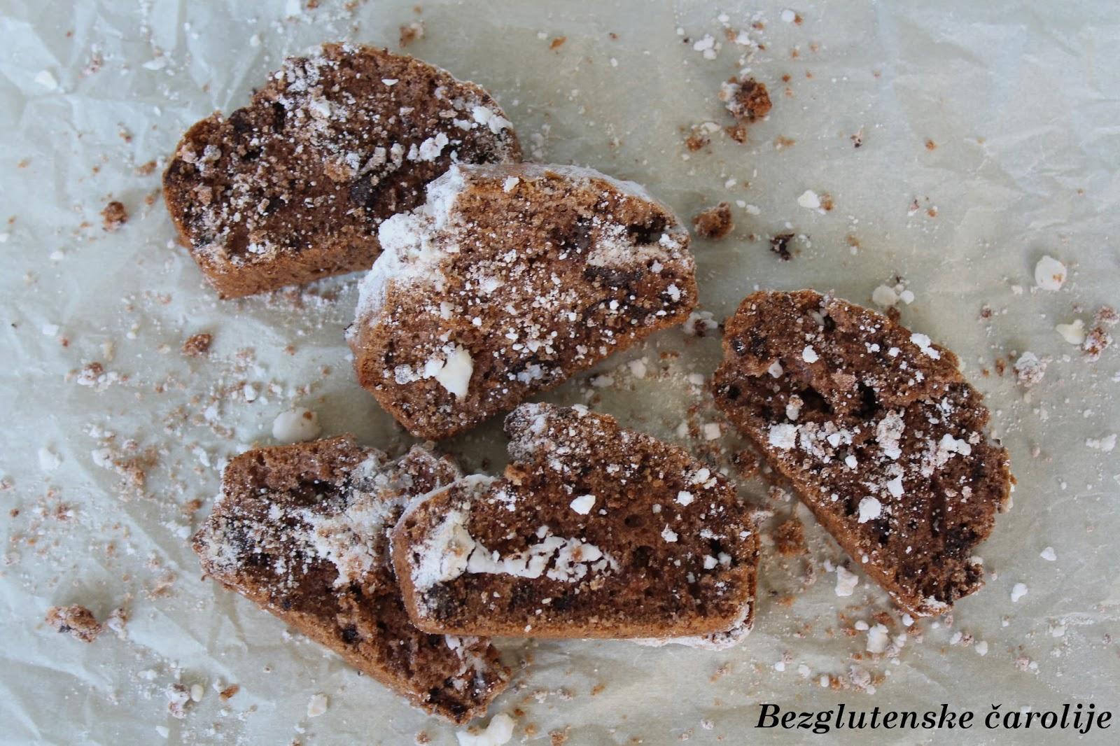 Čokoladna vekna bez glutena