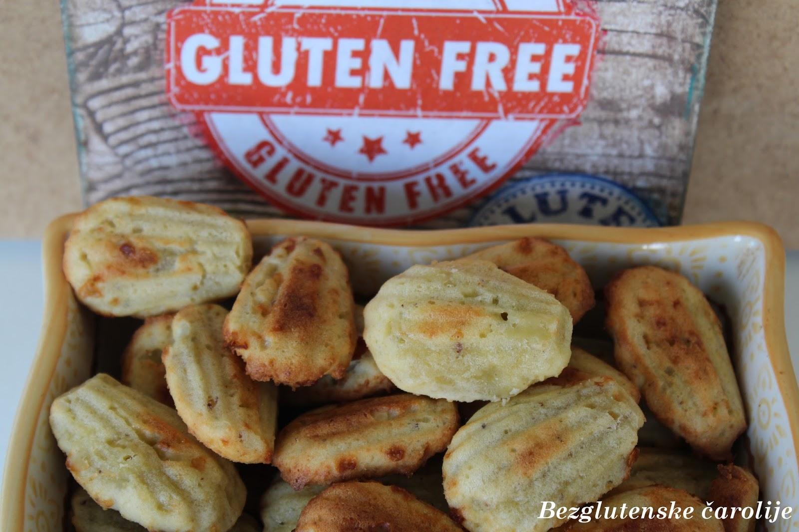 Bezglutenske madlene sa gorgonzolom i lešnikom