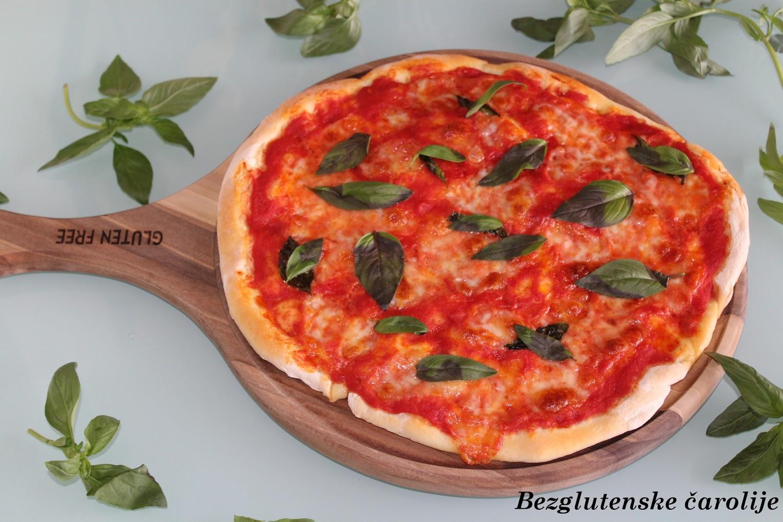Bezglutenska pizza Margherita