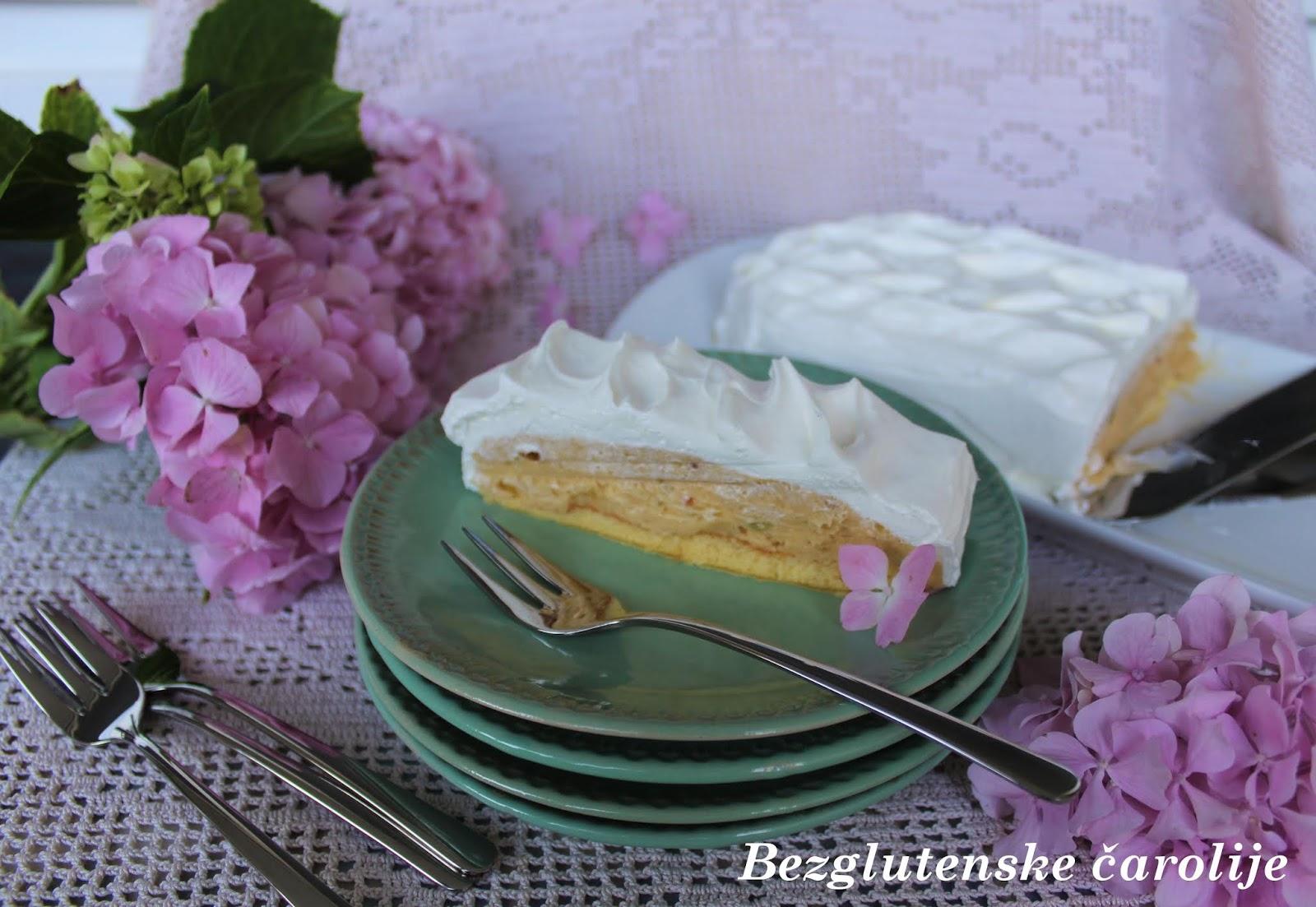 Bezglutenska keks torta