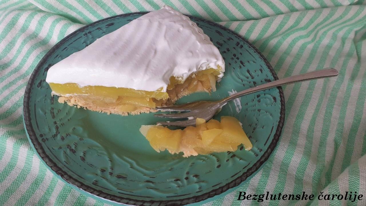 Gluten free kolač sa jabukama i keksom #EatSmartChallenge