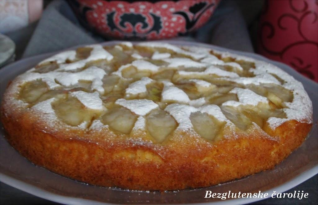 Bezglutenski kolač sa kruškama i Svetski dan hrane