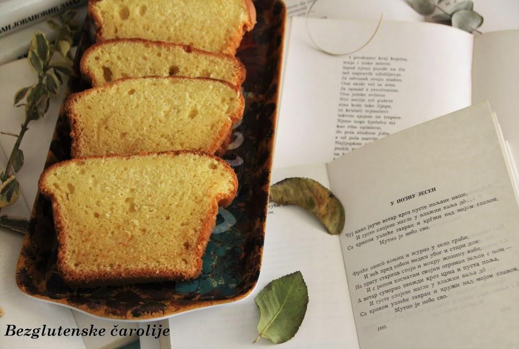 Bezglutenski vanil biskvit