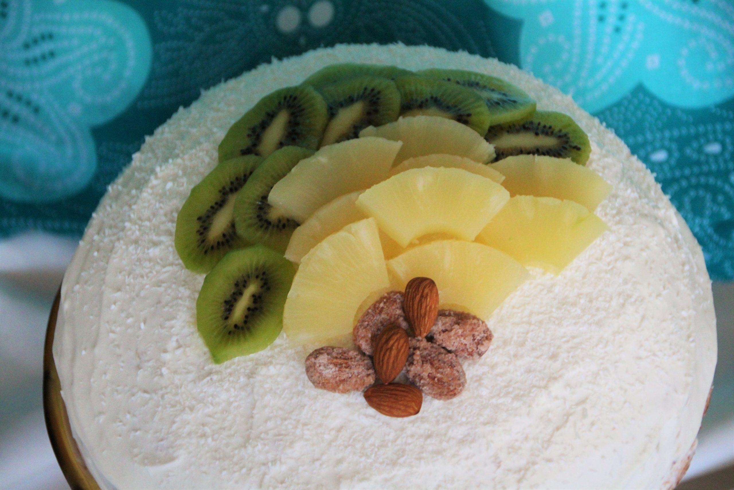 Bezglutenska Tropikana torta