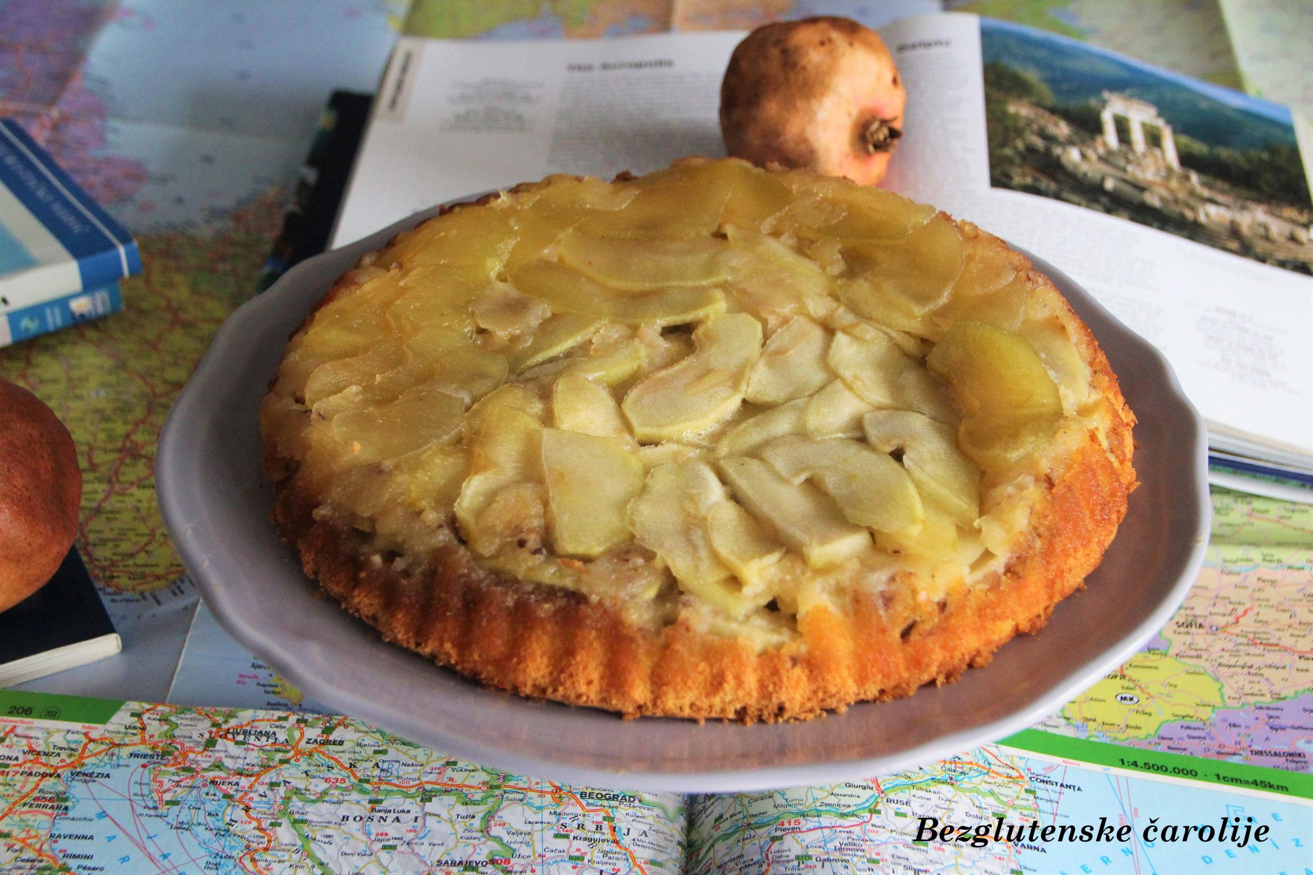 Milo pita, grčki kolač sa jabukama bez glutena